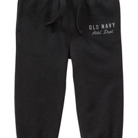 Old Navy Logo Sweatpants For Baby