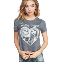 Together Forever Jack™ & Sally™ Tee | Wet Seal