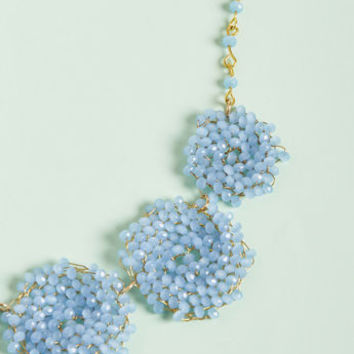 Whirl of Wonder Beaded Necklace