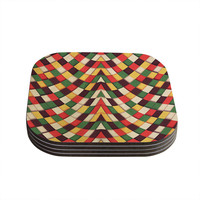 "Danny Ivan ""Rastafarian Tile"" Coasters (Set of 4)"