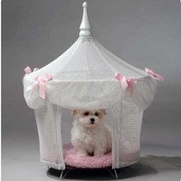 Sugarplum Princess Dog Cat Pet Bed Canopy Tent