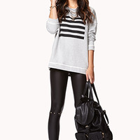 Striped Square Pullover | FOREVER 21 - 2077359701