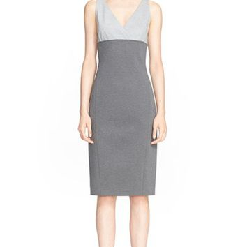 Women's Donna Karan New York Melange Jersey Pencil Dress