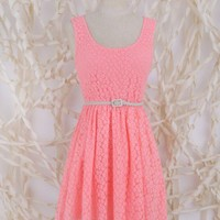 Lost Floral Lace Dress - Sundresses - Dresses - Apparel