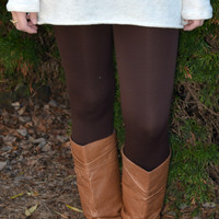 Dream Leggings - Brown