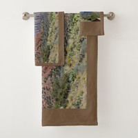 Mountain Zion National Park Bath Towel Set
