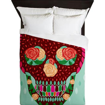 Skull Queen Duvet Cover - Ornaart Design