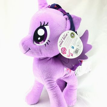 "My Little Pony 20"" Twilight Sparkle Plush Cuddle Pillow- Purple"