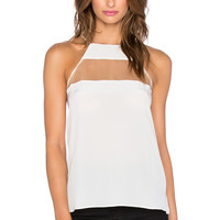 CAMI NYC The High Top Cami in White