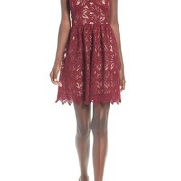 J.O.A. Sleeveless Lace Minidress | Nordstrom