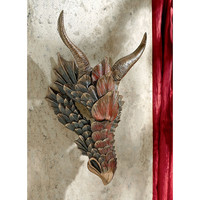Park Avenue Collection Dragon Feathers Wall Mask