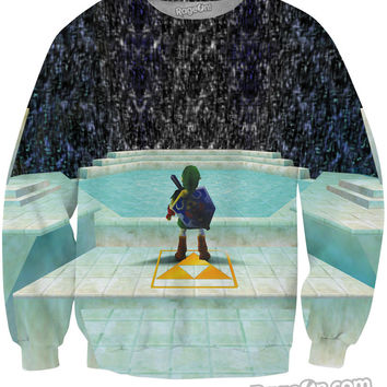 Legend of Zelda Great Fairy Fountain Crewneck Sweatshirt *Ready to Ship*