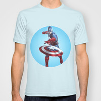 CAPTAIN AMERICA T-shirt by Hands In The Sky