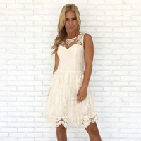 Unconditional Love Lace Dress