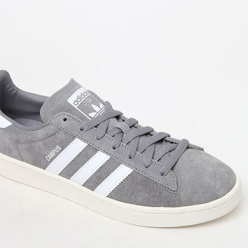 adidas Campus Grey and White Shoes at PacSun.com