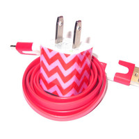 Valentine Chevron iPhone Charger