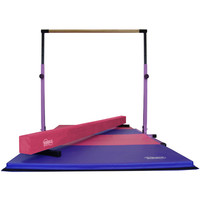 Purple and Pink Little Gym -Gymnastics Equipment by Nimble Sports