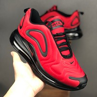 Nike Air Max 720 Red Black Running Shoes - Best Deal Online
