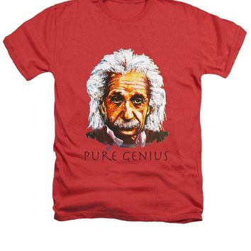 Pure Genius - Einstein - Heathers T-Shirt