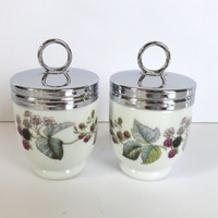 Royal Worcester Egg Coddlers Lavinia