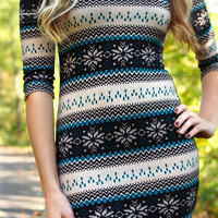 Skyfall Sweater Dress