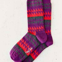 Happy Socks Disrupted Stripe Sock-