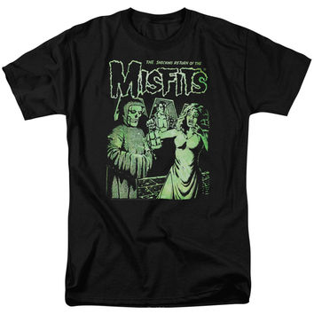 Misfits Men's  The Return T-shirt Black