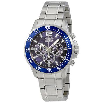 Invicta Specialty Blue Dial Chronograph Mens Watch 16286