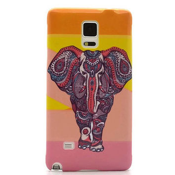 Galaxy Note 4 case Elephant iPhone 6 case iPhone 5S case elephant galaxy S5 case tribal elephant galaxy S6 edge Elephant LG G3 Sony Xperia