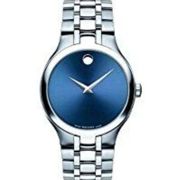 Movado Men's 'Collection' Stainless Steel Swiss Quartz