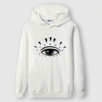 KENZO  Woman Men Fashion Letter Print Hoodie Top Sweater Pullover