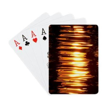 Gold Reflection Playing Cards> Gold Reflection> Zinchik's World