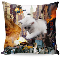 Rampage Cat Couch Pillow