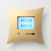 Message PC Throw Pillow Cover