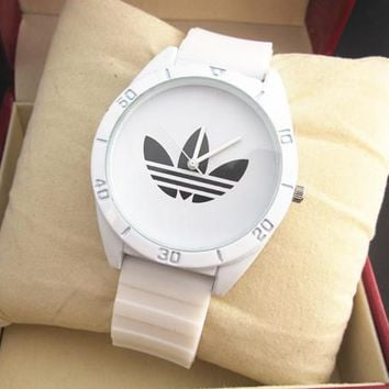 Adidas Quartz Rubber and Silicone Casual Watch