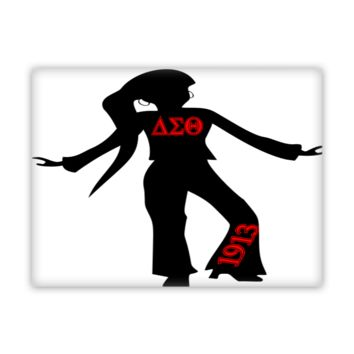 That Delta Sigma Theta Swag Fine Wall Art