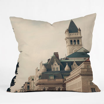 Catherine McDonald American Royalty Outdoor Throw Pillow