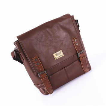 Korean Shoulder Bags Casual Men One Shoulder Messenger Bags [6583345543]