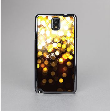 The Gold Unfocused Orbs of Light Skin-Sert Case for the Samsung Galaxy Note 3
