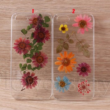 iPhone 6 case iPhone 6 plus Pressed Flower, iPhone 5/5s case, iPhone 4/4s case,  5c case Galaxy S4 S5 Note 2 note 3 Real Flower case NO:F164