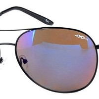 """Oxen Revolution 93004"" Sports Aviator Sunglasses with Flash Mirror Coating"