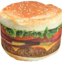 Wow! Works Hamburger Junior Beanbag Chair (86813J)