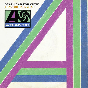 "Death Cab For Cutie: Tractor Rape Chain / Black Sun (Colored Vinyl) Vinyl 7"" (Record Store Day)"