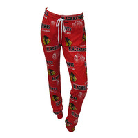 Chicago Blackhawks Fusion Printed Knit Pants