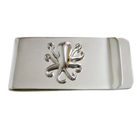 Silver Toned Octopus Money Clip