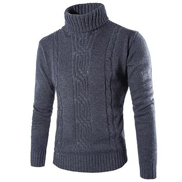 New Arrival Male Sweater High Quality Knitting Men Clothing Men Polo Sweaters Wool Clothing