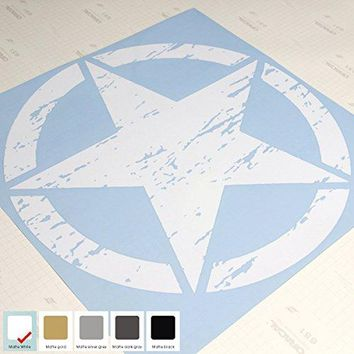 "20"" Jeep Wrangler Freedom Edition Star Hood Decal Sticker Vinyl"