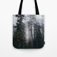 Into the forest we go Tote Bag by happymelvin