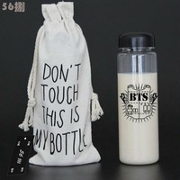 BTS Bangtan Boys Water Bottle Kpop JUNGKOOK JIMIN JIN V SUGA JHOPE IN BLOOM LTT9107