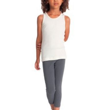 American Apparel Girls Cotton Spandex Jersey Legging
